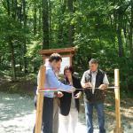 A soproni régészeti tanösvény felavatása | The inauguration of Sopron archaeological trail